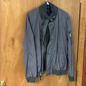 Mens XL Polo Bomber Jacket